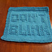 Doctor Who Don't Blink Dishcloth pattern