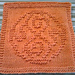Doctor Who Seal of Rassilon Dishcloth pattern