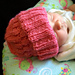 Bubble Wrap Baby Hat (reversible) pattern
