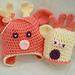 Baby Reindeer hat pattern