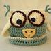 Baby Owlet Beanie pattern