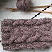chunky cabled boot cuffs pattern