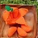 Peelable Orange Amigurumi pattern