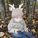 Woodland Stag Deer Baby Hat pattern