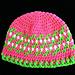 Fair Isle Motif Crochet Hat pattern
