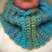 Women's Ribbed Cowl pattern