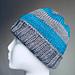 College Stripes Men's Knit Hat pattern