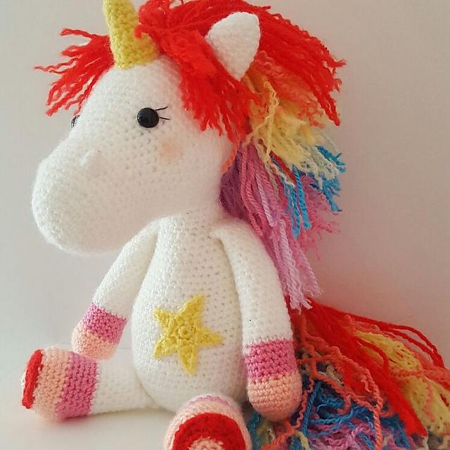 Heidi the Horse Free Amigurumi Pattern | Jess Huff | 640x640