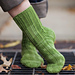 Erasmia pulchella Sock pattern