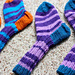Noppasukat / Dice socks pattern