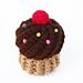 Cupcake Swirl Delight Plush pattern