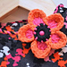 No-Weaving-in-Ends Crochet Flower Headband pattern