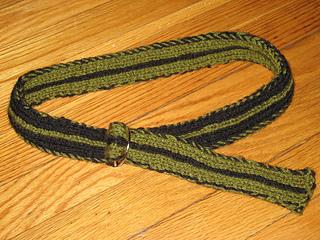 double knit belt
