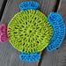 Fabulous Fish Dishcloth pattern