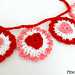 Ruffle Heart Garland pattern