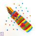 Candy Stripe Pencil Case pattern