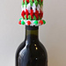 Festive Wine Bottle Topper pattern