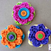 Button Flowers pattern
