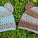 Stripy Baby Bear Hat pattern