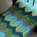 Chevron Baby Blanket and Chevron Throw pattern