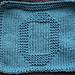 O Dishcloth pattern