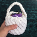 The Baby Dragon's Egg Basket pattern