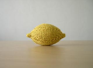 Knit Lemon - puckerlicious!