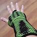 bones illusion wrist warmers pattern