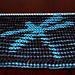 dragonfly illusion scarf pattern