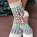 Faux Cables Socks pattern
