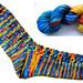 Spectral Dispersion Socks pattern