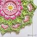 Rosa Mandala pattern