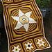 Puffy Star Baby Blanket pattern