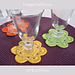 All Colors Flower Coasters pattern