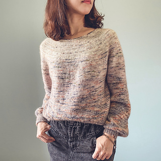 Canvas Jumper pattern by Irene Lin