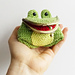 Freddie The Frog Coin Purse pattern