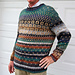 New York Men's Pullover pattern