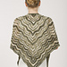 Taj Triangle Shawl pattern