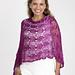 Silk Twists Poncho or Shawl pattern