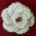 Sweet & Simple Knitted Rosette pattern