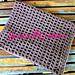 Open Weave Baby Wrap pattern
