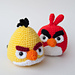 Angry Birds Goldfinch (Yellow Bird) pattern
