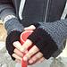Men's Fingerless Knight Gloves pattern