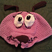 Courage the Cowardly Dog Beanie pattern