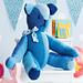 Color-Blocked Teddy Bear pattern