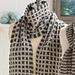 Slip Stitch Checkered Scarf pattern