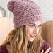 Eyelet Tweed Beanie pattern