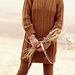 #10 Long Cabled Pullover with Leggings pattern