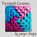 Twisted Granny pattern
