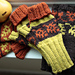 Fall Color Fingerless Mitts pattern